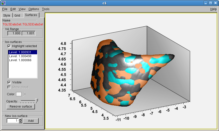 Plotting 3D surface - ROOT - ROOT Forum