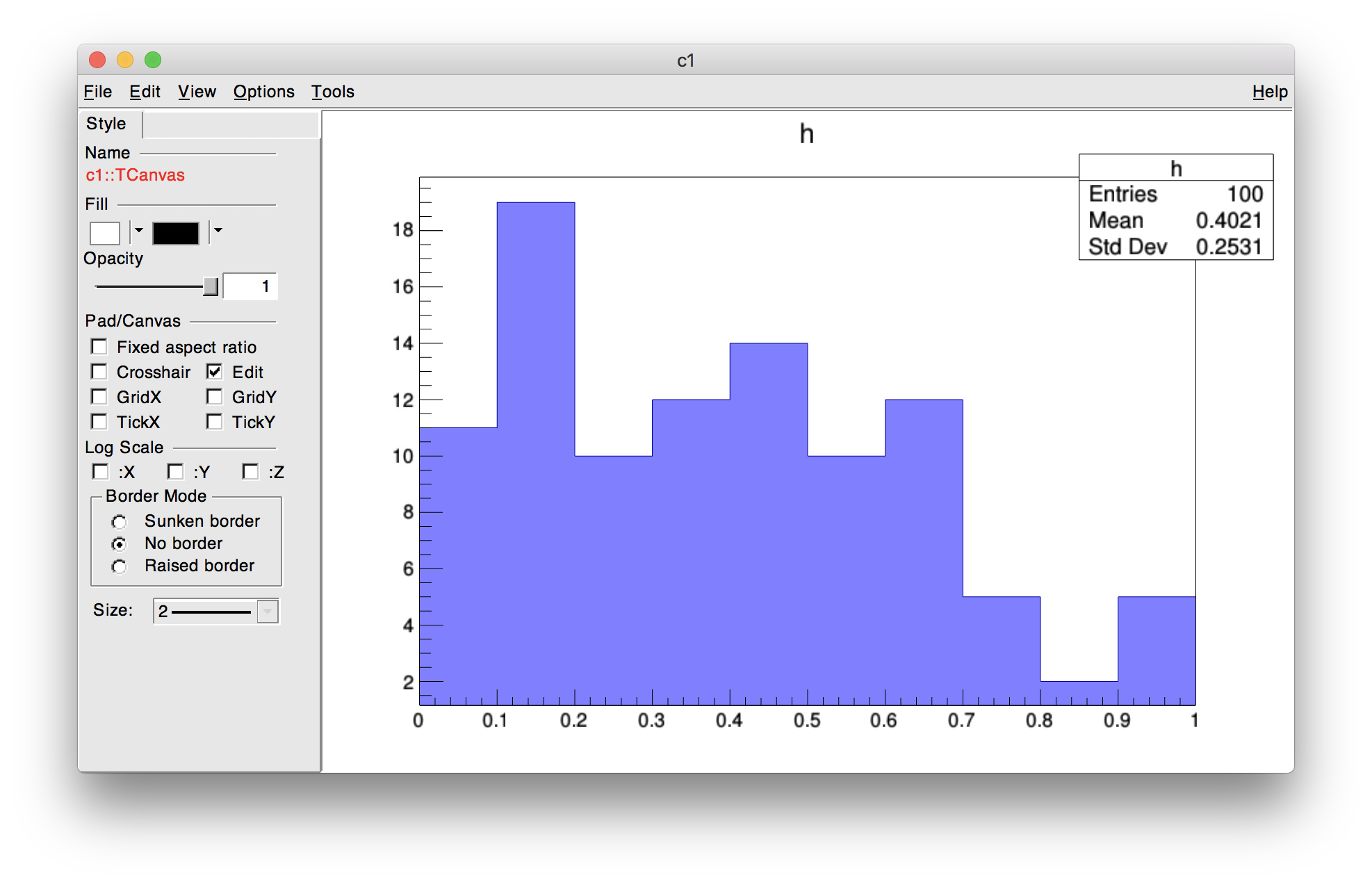Histogram fill transparency not working (EPEL7 package