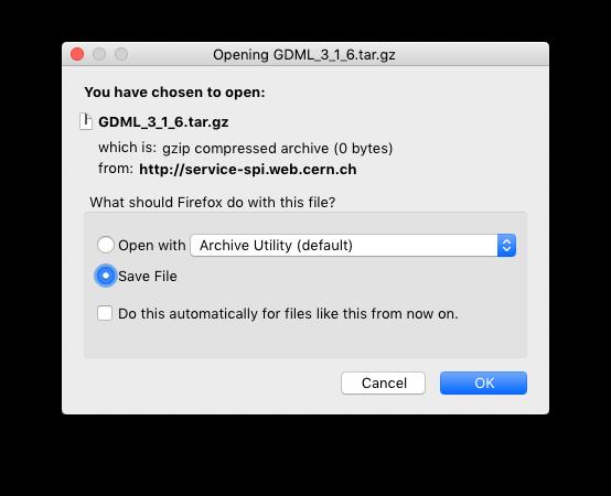 GDML Schema Download - General Chat - ROOT Forum