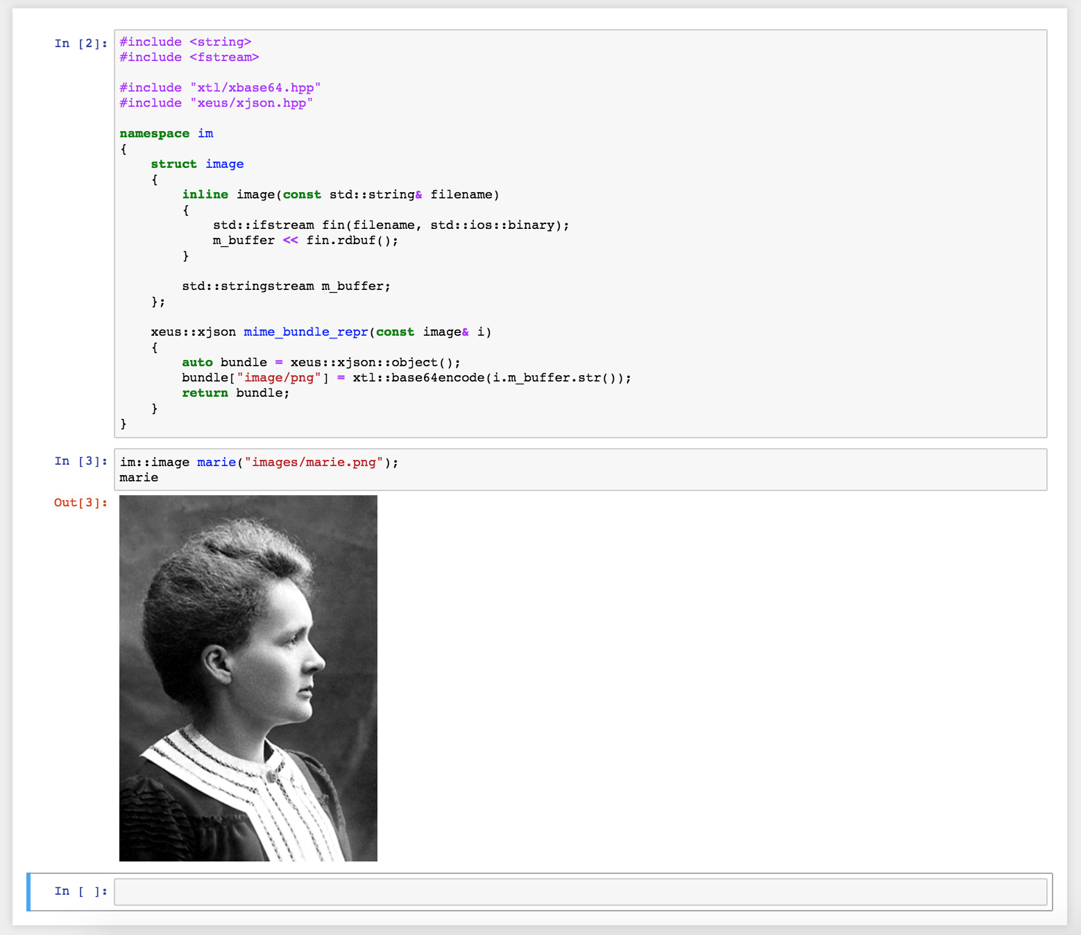 Announcement: A new Cling kernel for Project Jupyter - Cling